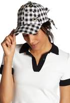 Betsey Johnson Buffalo Check Baseball Hat
