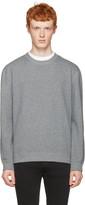 Naked & Famous Denim Grey Slim Pullover