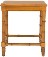 "Safavieh Liviah Modern Coastal 22"" Bamboo Accent Table, Brown"