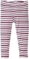 Kickee Pants Scallop Leggings (Baby) - Animal Stripe - 12-18 Months