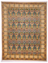 Solo Rugs Arts and Crafts Hand-Knotted Wool Rug