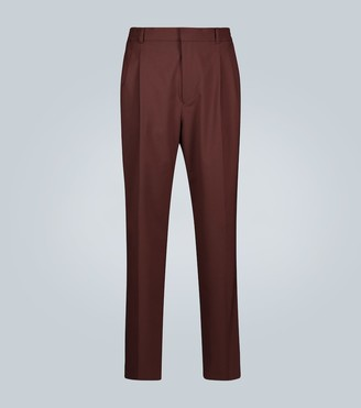 Cmmn Swdn Jez pleated wool trousers