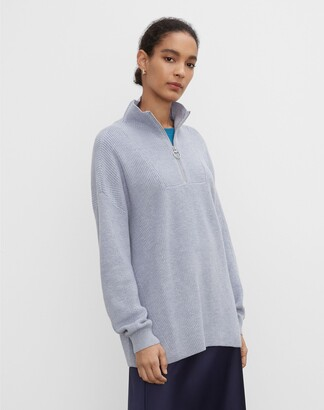 Club Monaco Quarter Zip Pullover Sweater
