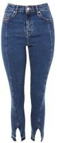 Topshop PETITE Split Hem Jamie Jeans
