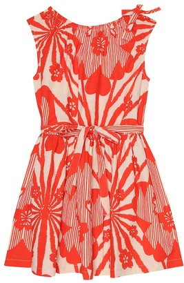 Caramel Notting Hill printed cotton dress