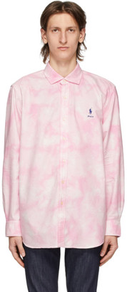 Polo Ralph Lauren Pink and White Laguna Shirt