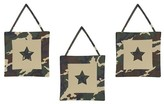 JoJo Designs Jo Jo Designs Sweet Green Camo Wall Hangings