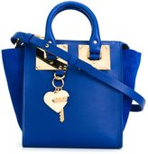 Sophie Hulme heart key plaque tote