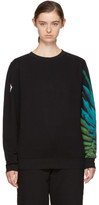 Marcelo Burlon County of Milan Black Jer Sweatshirt