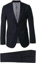 Giorgio Armani notched two-piece suit - men - Acetate/Cupro/Virgin Wool - 48