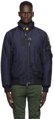 Parajumpers Navy Down Masterpiece Fire Bomber Jacket