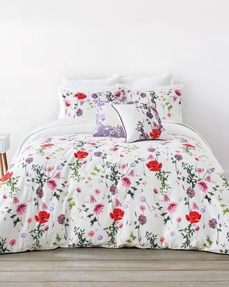 Ted Baker HERINA Hedgerow queen size cotton duvet set