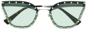 Valentino Eyewear Cat Eye Sunglasses