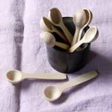 Artisan Wooden Salt And Pepper Spoon