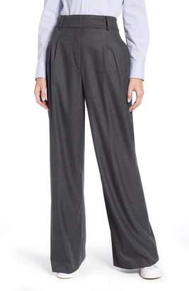 Tommy Hilfiger Flannel Wide Leg Trousers