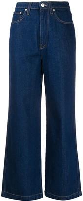 Nanushka Jane cropped jeans