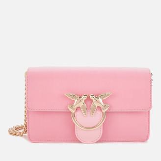 Pinko Women's Mini Love Optical Shoulder Bag - Peach Skin Pink