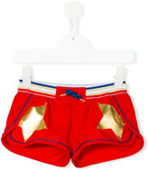 Little Marc Jacobs star print shorts - kids - Polyester/Spandex/Elastane/metal - 4 yrs