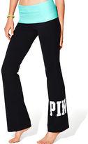 PINK Foldover Waist Yoga Pant