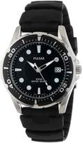 Pulsar Men's PXH227 Stainless Steel Watch with Rubber Band