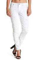 Dex Splatter Super Skinny Ankle Jean