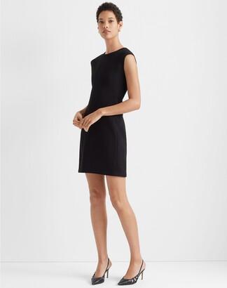 Club Monaco Sculptural Knit Mini Dress