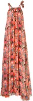 Chufy geometric-print maxi dress