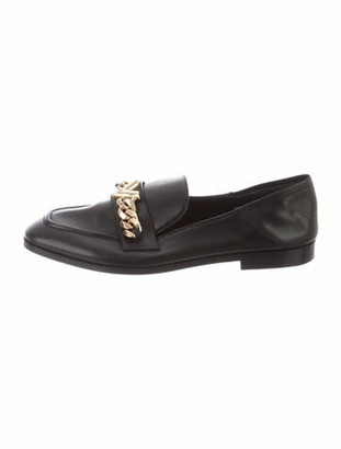 Louis Vuitton Prime Time Leather Loafers Black