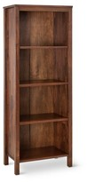 Nobrand No Brand Freeman 4 Shelf Bookcase Dark Brown - 222 Fifth