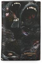 Givenchy Monkeys Card Case, Black