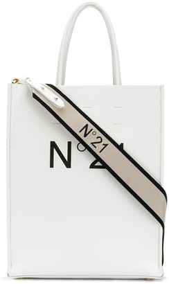 No.21 Logo Shopping Tote