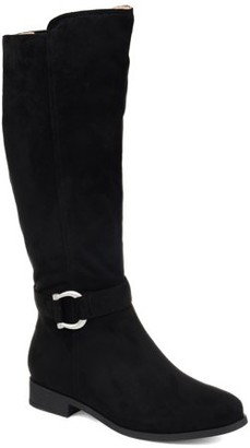 Brinley Co. Womens Comfort Classic Riding Boot