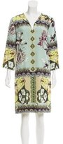 Etro Silk Floral Print Dress w/ Tags
