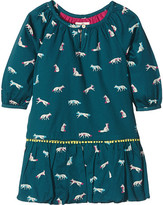Hatley Winter Fox Pom Pom Dress (Toddler/Little Kids/Big Kids)