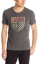 Lucky Brand Men's Castrol Shield Graphic Tee