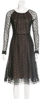 Erdem Lace Midi Dress