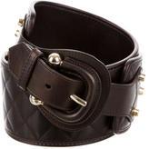 Burberry Quilted Waist Belt
