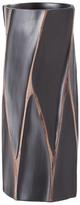 Torre & Tagus Short Machado Carved Vase