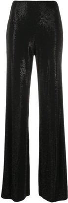 Alexandre Vauthier Embellished Flare Leg Trousers