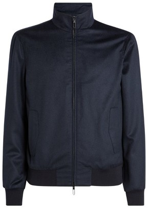 Emporio Armani Wool Bomber Jacket