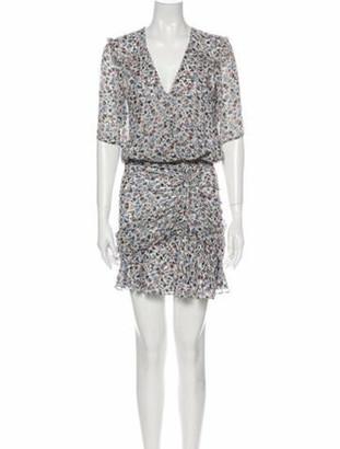 Veronica Beard Silk Mini Dress White