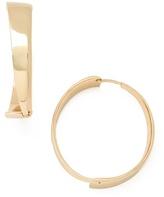 Belle Noel by Kim Kardashian Modernista Hoop Earrings