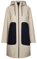 Tommy Hilfiger Marilyn Bonded Colour Block Coat