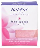 Buf-Puf Reusable Facial Sponge, Extra Gentle, - 1 Ea