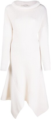 Alexander McQueen Ribbed Knitted Dress
