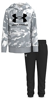Under Armour Boys' Rival Logo Hoodie & Jogger Pants - Little Kid