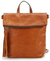 Patricia Nash Luzille Tasseled Woven Convertible Backpack