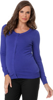 A Pea in the Pod Button Front Maternity Sweater