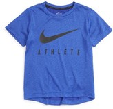 Nike Toddler Boy's Athlete Dri-Fit Graphic T-Shirt
