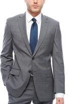 Claiborne Slim Fit Squares Suit Jacket-Slim